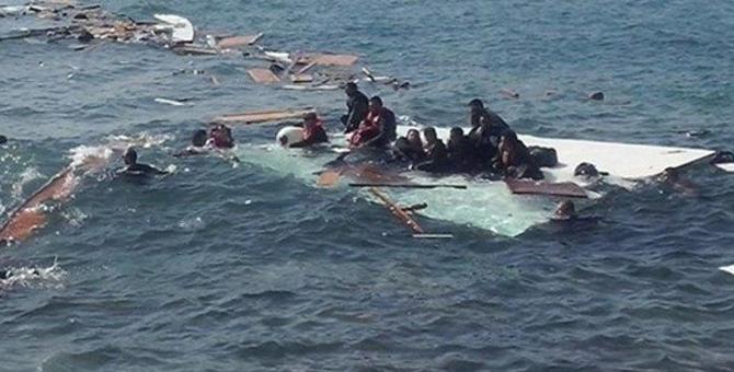 Kıbrıs açıklarında facia! Mülteci gemisi battı