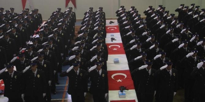 382 polis göreve başladı