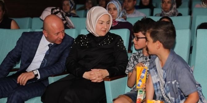 Kocasinan'ın sinema günlerine bu kez çölyaklı aileler misafir oldu