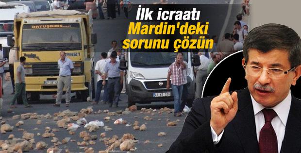"""Davutoğlu, ilk talimatını verdi """"Derhal Çözün"""""""