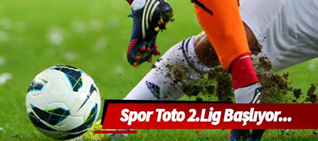 Spor Toto 2.Lig Beyaz Grup maçları başlıyor