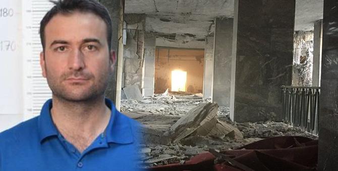 Meclisi bombalayan darbeci pilotun cezaevinde yırttığı not bulundu