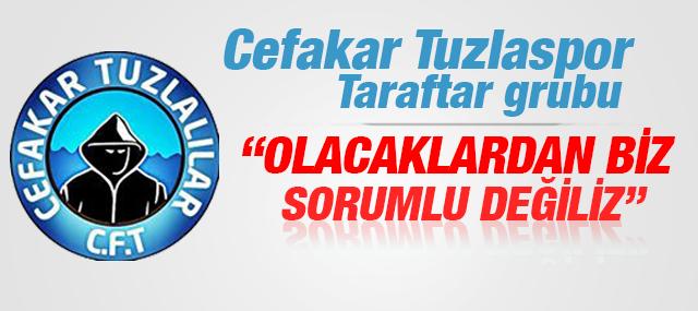 Cefakar Tuzlaspor'lular Yönetime Ateş Püskürdü