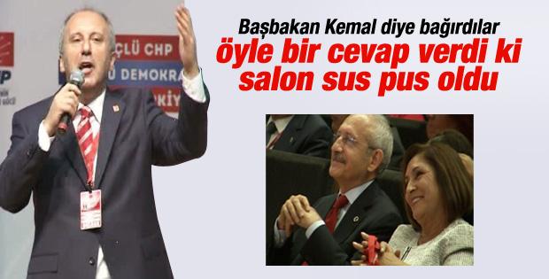 """Muharrem İnce, """"Sokaklar Kemal Kılıçdaroğlu Diyor mu?"""""""