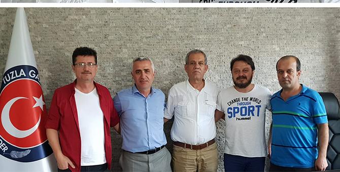 Türkiye Gazeteciler Federasyonu Başkanı Karaca'dan TUGADER'e ziyaret