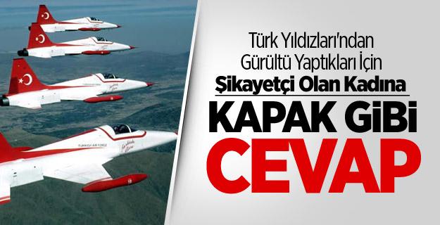 Türk Yıldızları'ndan Kapak Gibi Cevap