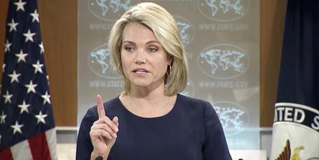 ABD Türk heyetinin ardından açıklama yaptı