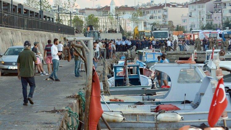 Kumkapı'da 120 tekneye şafak baskını