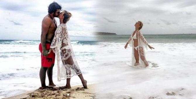Sinan Güleryüz ve Özge Özder Bali'de balayında! İşte balayı fotoğrafları...
