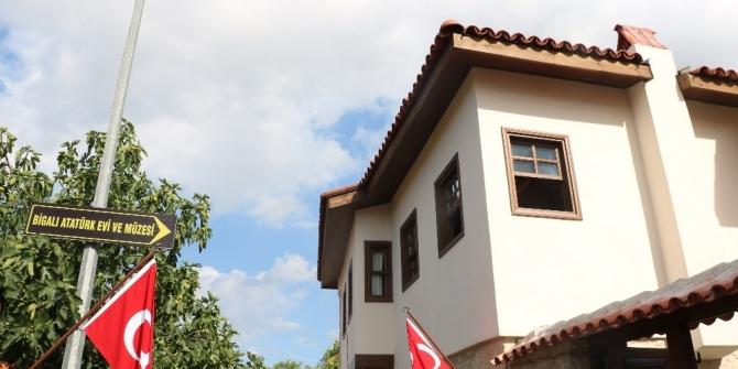 'Atatürk Evi Müzesi' törenle açıldı