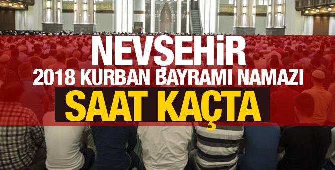 2018 Nevşehir kurban bayramı namazı saati kaçta? İşte bayram namazı saatleri