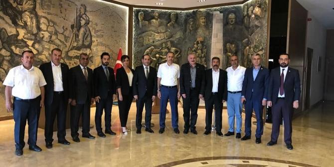 MHP'den Vali Yerlikaya ve Şahin'e ziyaret