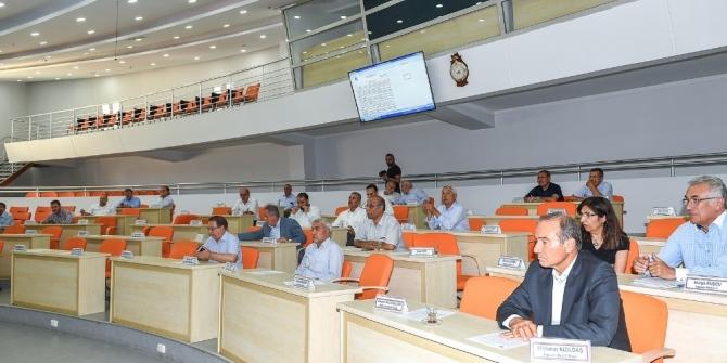 Büyükşehir Meclisi Ağustos toplantılarını tamamladı