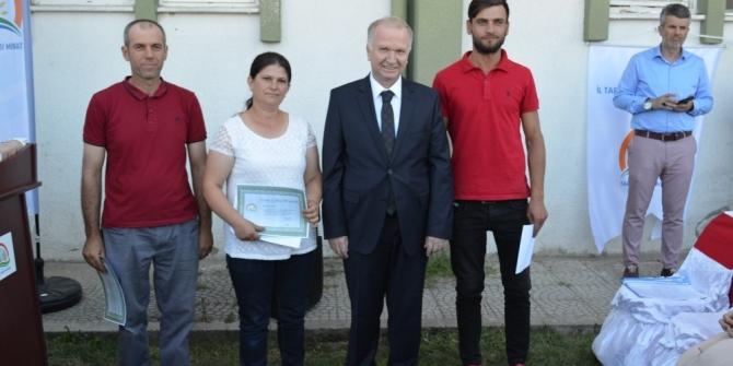 Tekirdağ'da 150 kişi Genç Çiftçi Projesi'nden faydalandı