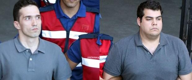 Edirne'de askeri yasak bölgede yakalanan 2 Yunan askeri hakkında karar verildi!