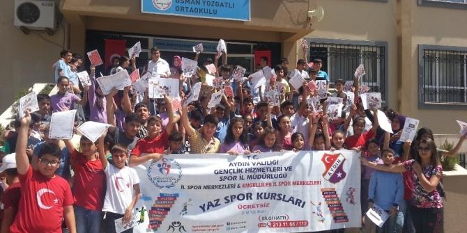 Aydın Yaz Spor Okulları'nda Türkiye dördüncüsü