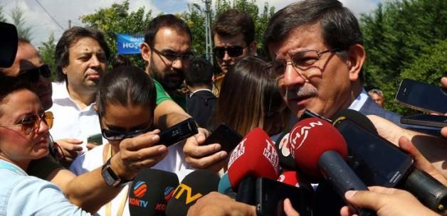 Başbakan Davutoğlu; Tarih bizi altın harflerle yazacak