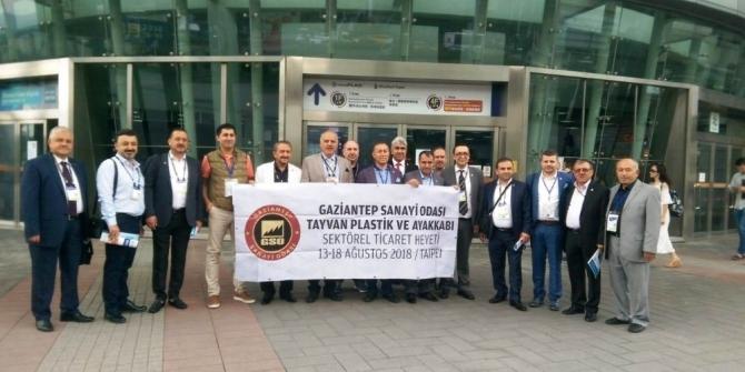 GSO Sektörel Ticaret heyeti Tayvan'da