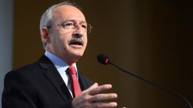 Kemal Kılıçdaroğlu kurultay tartışmalarına son noktayı koydu