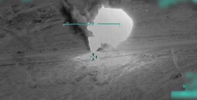 TSK ve MİT'in Sincar operasyonu görüntüleri! Terörist böyle vuruldu