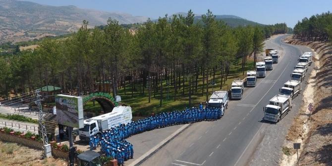 Dulkadiroğlu'nun temizlik ekibi göreve hazır