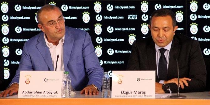 Galatasaray, sırt sponsorunu buldu