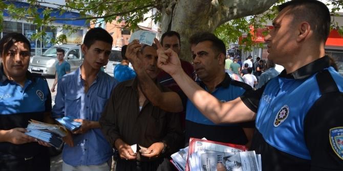 Polis, vatandaşları bayram öncesi vatandaşları dolandırıcılık olaylarına karşı uyardı