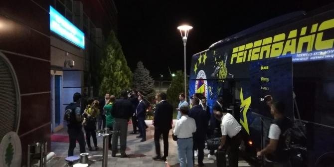 Fenerbahçe kafilesi Malatya'da