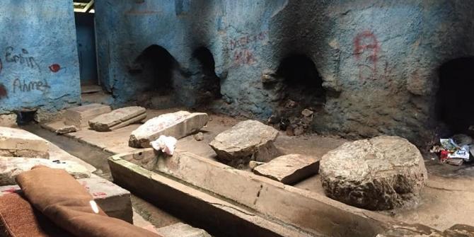 Pazaryeri'nde restorasyon çalışmaları devam ediyor