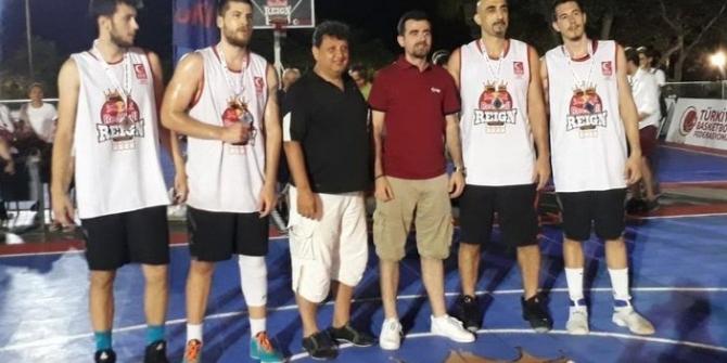 TBF 3x3 Basketbol Turu'nun finali Kuşadası'nda yapıldı