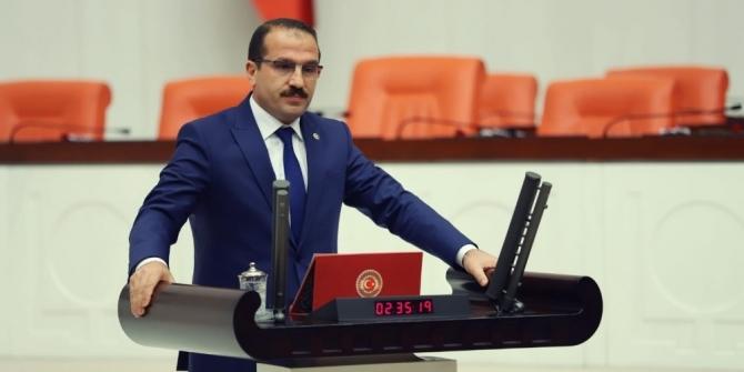 AK Parti'li Kırkpınar'dan Kurban Bayramı mesajı