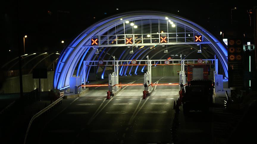 Avrasya Tüneli trafiğe kapatılmıştı, ihbar asılsız çıktı tekrar trafiğe açıldı