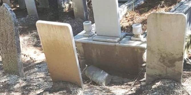 Gurbetçi vatandaşın mezarlık tepkisi