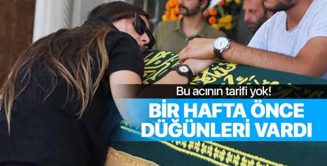 Anne babasının kavgasında boğazından bıçaklanan Can Türker'in cenazesi defnedildi