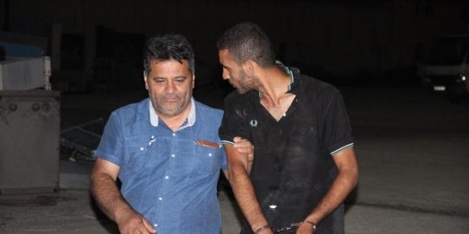 Makaradaki bakır kabloları sökerken yakalanan şüpheliler tutuklandı