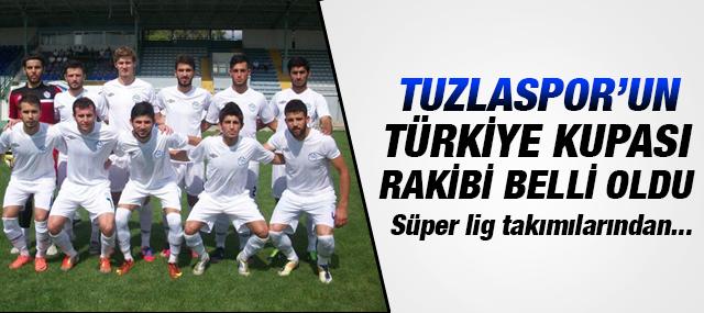 Tuzlaspor'un Türkiye kupası 3. Tur Rakibi Belli Oldu