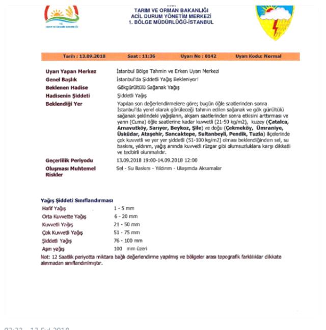 Meteoroloji'den İstanbullular için sel uyarısı