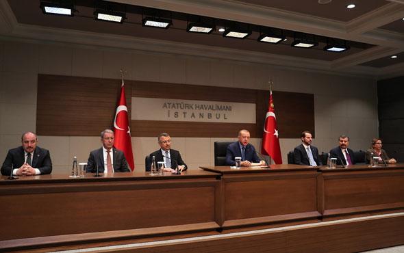 Cumhurbaşkanı Erdoğan'dan MHP'nin meclise sunduğu af teklifi hakkında açıklama