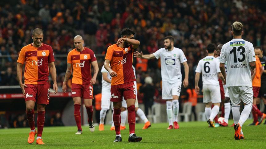 Akhisarspor Galatasaray Maçının İlk 11'leri