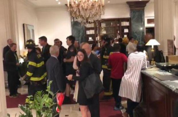 Amerika'da Türk Gazetecilerin kaldığı otelde yangın