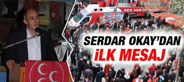 Pendik Mhp İlçe Başkanı Serdar Okay'dan İlk Açıklama