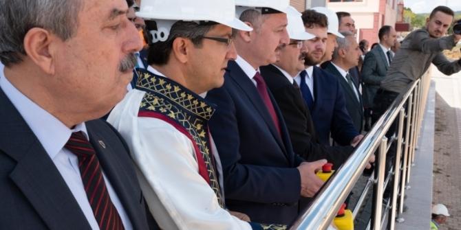 Bilecik Şeyh Edebali Üniversitesi'de temel atma töreni