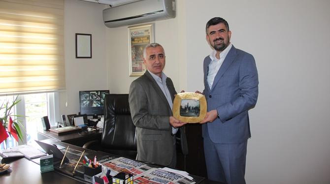 İş adamı Erkan Gül'den Bölge Gündem Haber'e ziyaret
