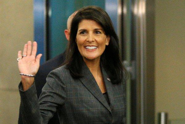 ABD Birleşmiş Milletler daimi temsilcisi Nikki Halley istifa etti.