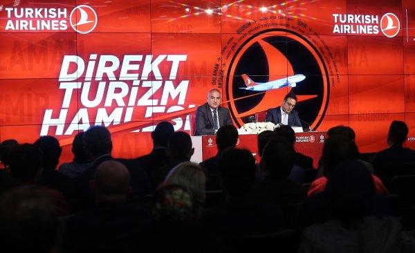 Turizm Bakanı 'Direk Turizm Hamlesi'ni imzalandı!