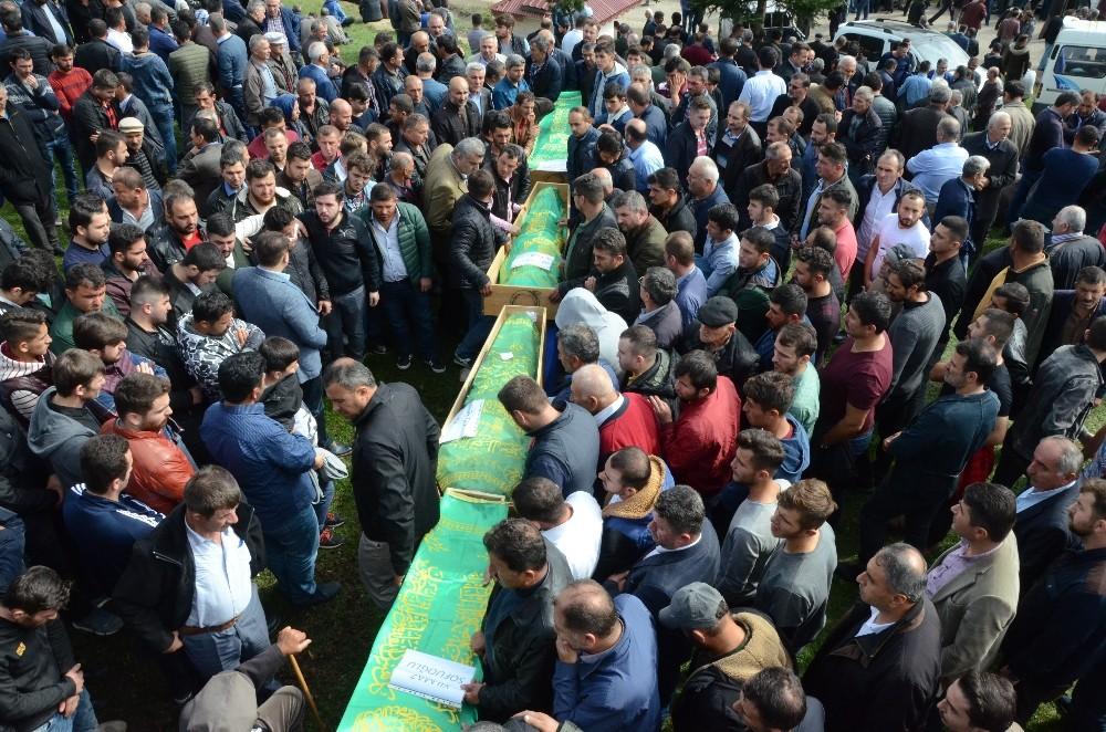 Polatlı'da Kazada ölen 4 kişi son yolculuğuna uğurlandı