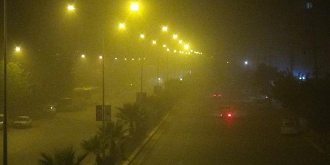 Toz bulutu Şanlıurfa'yı esir aldı