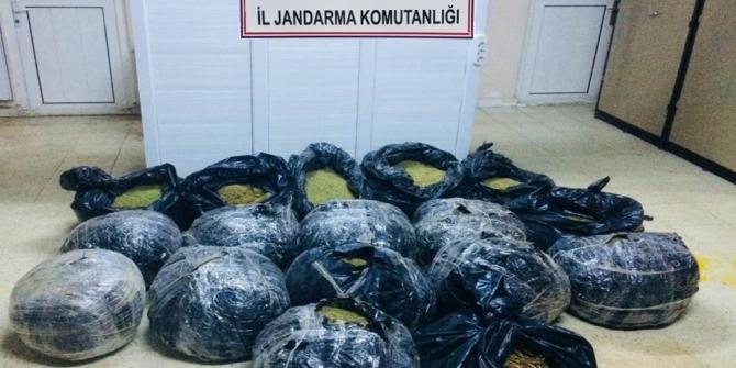 Diyarbakır'da 164 kilogram esrar ele geçirildi