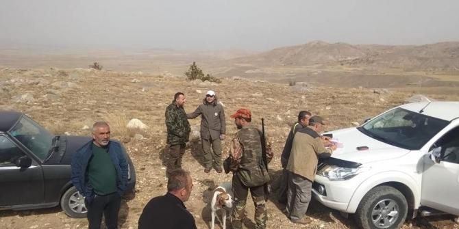 Sivas'ta geniş kapsamlı kaçak avcı operasyonu