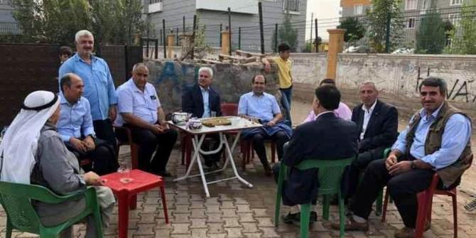 Şehitlik mahallesi sakinleri ile istişare toplantısı yapıldı